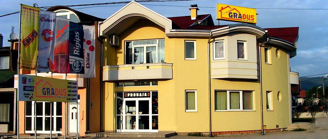 Građus d.o.o. Kotor Varoš završni radovi u građevinarstvu